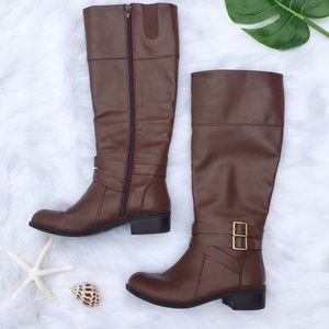 arizona | denver riding brown boots size 8